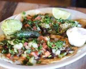Fresh Mexican food